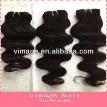 vimage unprocessed virgin human hair ladies hair weave