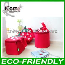 Hot selling_cheap cooler bag/lunch bag/oxford strawberry cooler bag