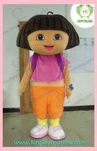 HI dora explorer costume for adults