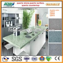 Fabricated Quartz Stone Kitchen Countertop
