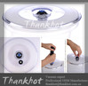 New style Vacuum food container lid keep food fresh