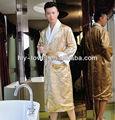 venta al por mayor fibra bambú sexy kimono de seda y satén albornoz para el hombre