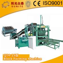 SUNITE Block Forming Machine/concrete cover blocks making machine/cement block machine for sale