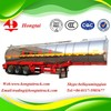 3 axle 42000 litre chemical liquid tanker semi trailer for sale