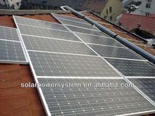 CE TUV proved 15000w 3 high watt power solar panel