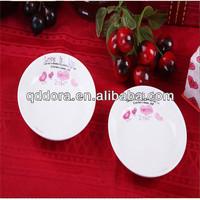 cheap porcelain plates,small porcelain antique plates,round ceramic plate