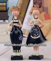 resina blu navy coppia dolce bambola antica souvenirs cipro
