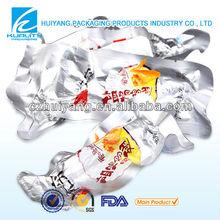 food safty aluminum foil food storage vacuum bag sachet for Chicken Wings