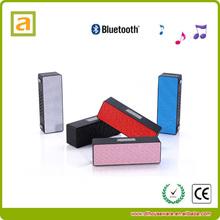 high excellent sound built-in microphone bluetooth mini wireless speaker case