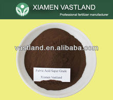 Fulvic acid foliar fertilizer/acide fulvic/biochemical fulvic acid