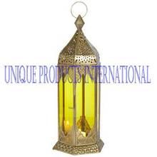 Brass Moroccan lanterns