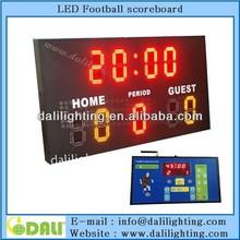 Great design electronic led futsal scoreboard system