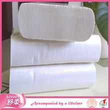 Soyou virgin pulp wholesale embossed paper hand towel