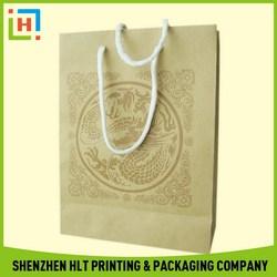 Modern cheapest custom printing shopping paper bags
