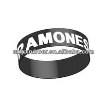silicon rubber wrist band,wrist band silicone