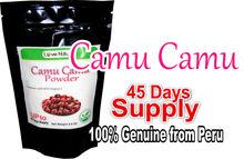 Genuine Camu Camu Powder made from 100% Organic fruit ( 100 gr/ 45 days supply)