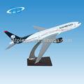 Plano de escala aeromexico b777-200 32cm modelo