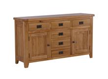 RL Solid Oak Large Sideboards/Oak Wood Sideboard Buffet
