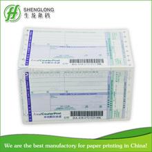 China print factory Turkey PTT ems airway bill printing paper printing Turkey PTT ems airway bill printing