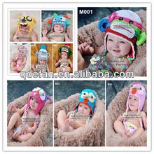 Drôle bébé chapeaux motif crochet chapeau de bébé en vente