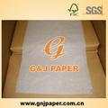 Mgmg non couché blanc du papier d'emballage alimentaire