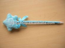 hot selling lovely soft star craft pen good for gift