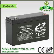 6v 10ah rechargeable battery storage battery manufacturer