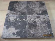 Brown limestone treads, Cappuccino limestone steps