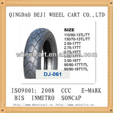 motorcycle tyre size 90/90-17,high quality beatiful pattern
