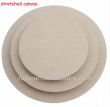 round stretched canvas for painting