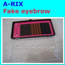 korea makeup black&brown eyebrow