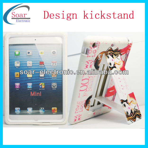 hot selling one direction kickstand cover case for ipad mini