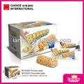 lantos 10g marca de aperitivos de cereales de chocolate barra de cereal