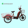 350W 48V 12AH electric trike with Pedals or throttle bar