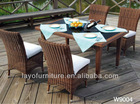 outdoor dining table and chair outdoor rattan furniture garden furniture