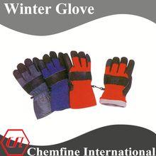 cheap long sleeve cow split leather welding glove