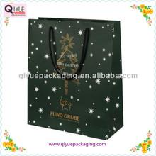 christmas tree paper bag