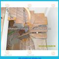 la banda de rodadura de madera de los modelos de escaleras escaleras en el interior