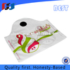 cheap wholesale resealable plastic wave-top bag with logo production line