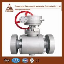 Tysonmech Hot Sale high pressure flange ball valve