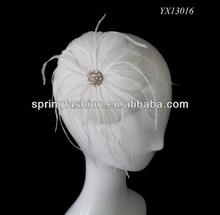 2014 wedding accessory/hair fascinator for wedding/wedding hair accessories