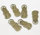 Antique Bronze Virgencita Cuidame Charm Pendants 32x15mm, sold per pack of 10,Newest