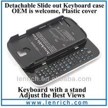 LBK307 Wireless Bluetooth Keyboard Case for Samsung Galaxy S4 S IV i9500 Keyboard Case,samsung galaxy s4 case,bluetooth keyboard