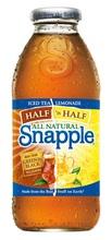 Snapple& la mitad de la mitad de la limonada té