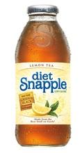 snapple limón té de la dieta