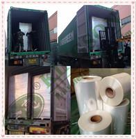 pof shrink film tube plastic packaging