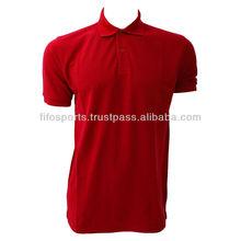 Men short sleeve 100 cotton polo shirt