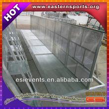 Automatic rising bollard, retractable bollard, hydraulically powered barricade
