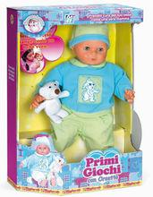 caldo adorabile educazione qualità abs di plastica bambola di bambino con en71