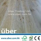 Oak Brushed & White washed Lacquered European white oak flooring